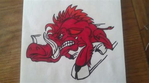 razorback tattoo arkansas razorbacks