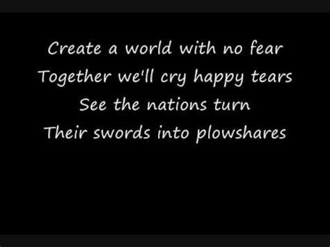 testo world michael jackson heal the world lyrics