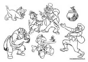 pinocchio coloring pages pinocchio coloring pages az coloring home