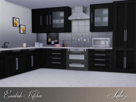 The Sims Resource: Essentials Kitchen by Lulu265 ? Sims 4