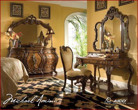 rococo bedroom furniture sets aico bedroom set palais royale in rococo cognac ai 710 35
