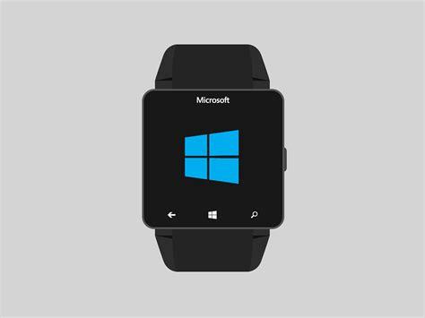 Smartwatch Windows microsoft windows concept focuses on ui rather than hardware concept phones