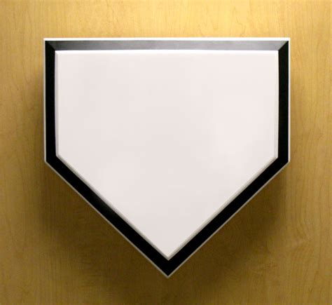 home plate baseball baseball art large sports decorations for ballparks and