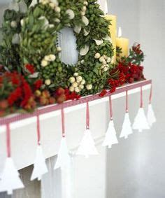 mantelpiece garlands 1000 images about craft ideas on