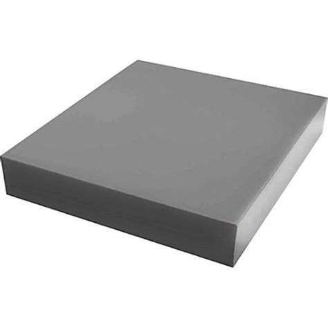 Homebase Shelf Board by Duraline High Gloss Shelf Grey 25 X 25cm