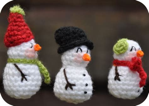 amigurumi snowman pattern free mini snowman free amigurumi pattern scroll down for