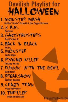 boat song list this is halloween a super spooky playlist perfect for all