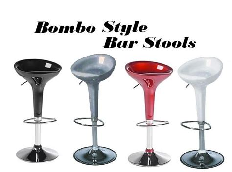 modern contemporary adjustable bar stools bombo modern contemporary adjustable bar stool set of 2