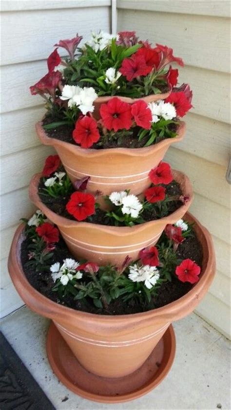 summer flower pot idea just pretty pinterest summer