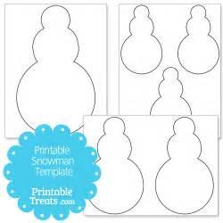snowman template printable snowman template printable treats