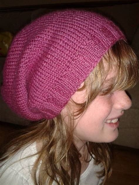 knitting patterns for slouchy hats free slouch hat free knitting pattern diy