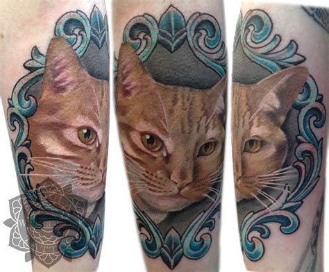 cat portrait tattoo cat portrait by nebulatattoo on deviantart