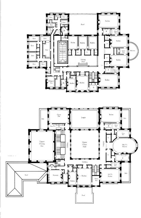 breakers mansion floor plan 2nd and 3rd floor the breakers gilded age newport