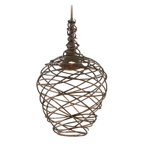 Cottage Pendant Lighting Troy Lighting Sanctuary Cottage Bronze Led Pendant Light F4186 Destination Lighting