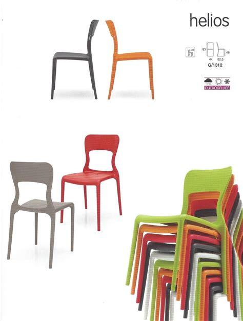 sedie pvc sedia helios pvc outdoor sedie a prezzi scontati