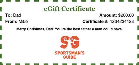 Sportsman S Guide Gift Card - sportsman s guide outdoor gear military surplus survival gear and more