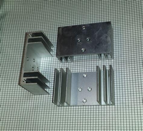 heatsink transistor aluminium heat sinks nomadtronics