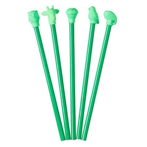 Smiggle Tropi Cool Pencil Topper Pensil Smiggle Smiggle Green Pencils Smiggle Is Cool