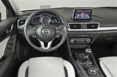 Mazda 3 Interior by 2014 Mazda 3 Sedan Images Leaked