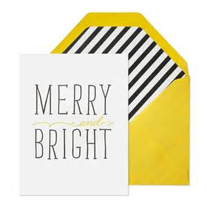 merry and bright cards set of 6