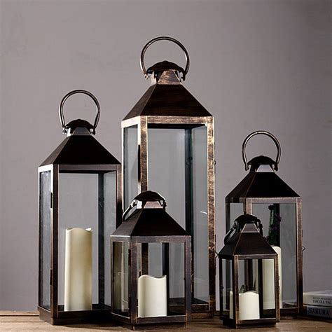 Large Floor Lanterns by Holder Kitchen Picture More Detailed Picture About