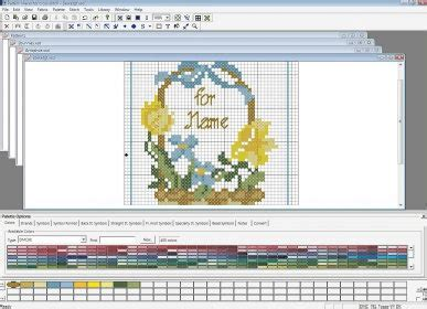 cross stitch pattern maker free download for windows 8 pattern maker for cross stitch software informer it is