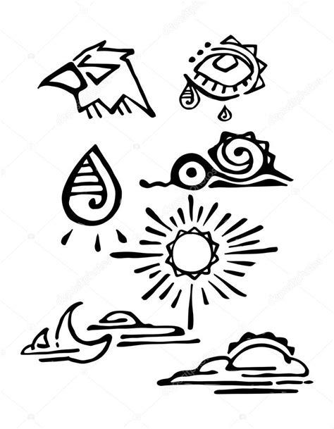 Imagenes De Simbolos Indios   s 237 mbolos ind 237 genas 233 tnicos vector de stock 169 bernardojbp