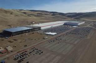Tesla Giga Factory Tesla Gigafactory Construction Costs Now Exceed 1 Billion