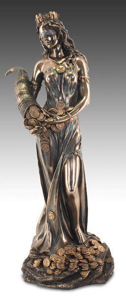 diosa de la fortuna grande xx cm figuras de arte