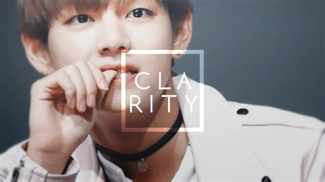 kim taehyung jisoo kim taehyung clarity youtube