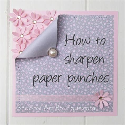 Paper Punch Craft Ideas - rp how to sharpen paper punches jpg thoughts ideas