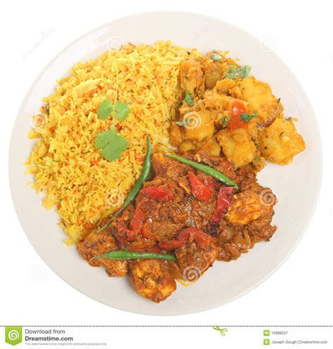curry payment plan indian chicken curry meal royalty free stock photography