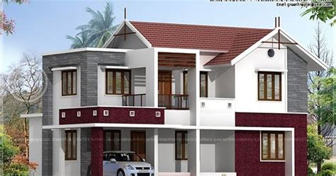 beautiful home exterior in 2446 square feet house design 2054 square feet beautiful villa exterior kerala home