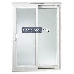 Patio Door Frame Richmond Pvcu Patio Door Frame H 2050mm W 1790mm Rooms Diy At B Q