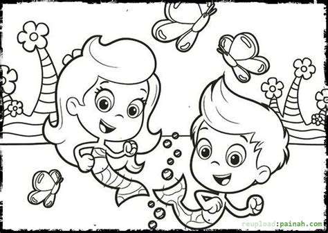bubble guppies coloring pages games underwater mermaid school bubble guppies 20 bubble guppies