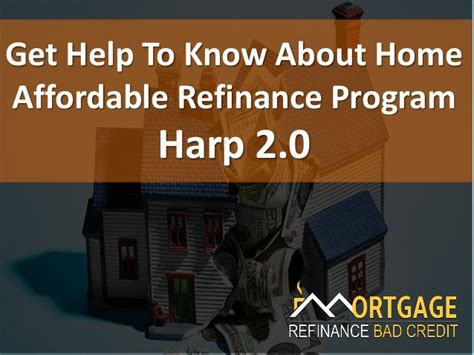 home affordable refinance program harp 2 0 qualify with