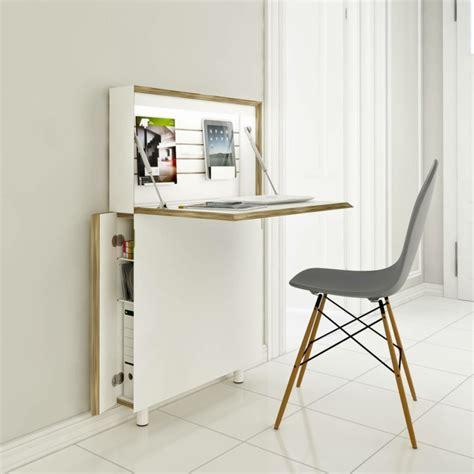 klapp schreibtisch klappschreibtisch im kleinen home office 33 fotobeispiele
