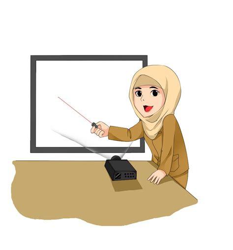 kumpulan gambar kartun guru mengajar muridnya terbaru