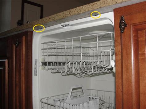 How To Install A Dishwasher A Granite Countertop by Countertops Design 187 Attaching Dishwasher To Countertop