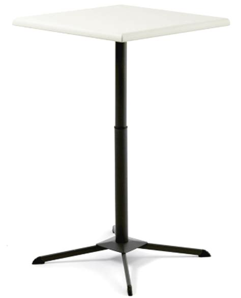 Lifetime Bistro Table New Lifetime 29 Square Folding Bistro Cafe Table Adjustable Height