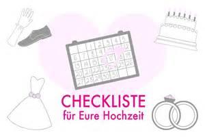Hochzeit Liste hochzeits checkliste die wichtigsten to dos f 252 r eure