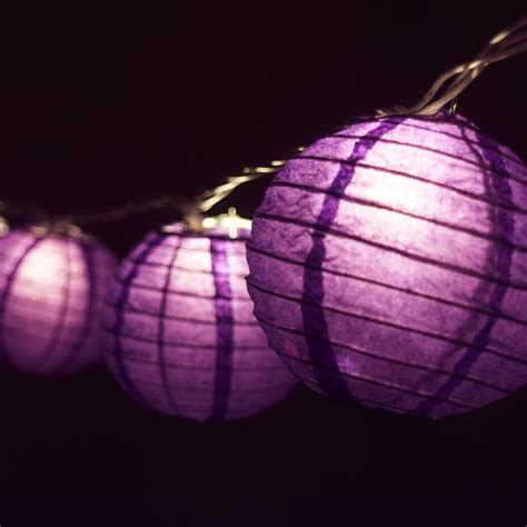 purple string lights 4 quot purple shaped string lights ebay