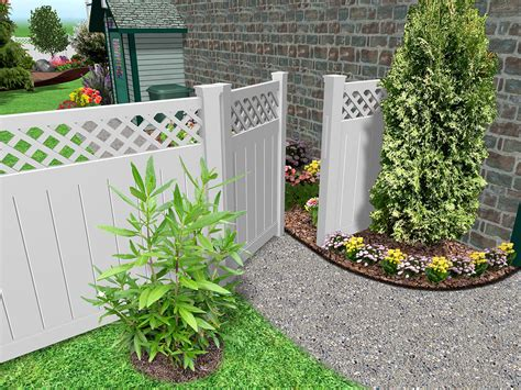 Garden Fence Ideas Design Garden Fence Ideas Design Living Interior Design Photos