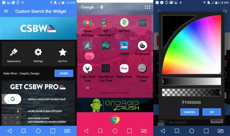 nova launcher cool themes best nova launcher themes icon packs 2017 android crush