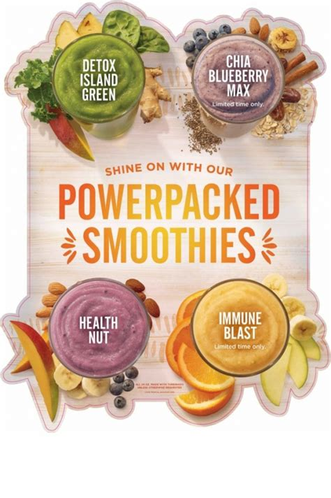 Tropical Smoothie Cafe Detox Island Green Ingredients by A Healthy You In 2017 Tropical Smoothie Cafe Giveaway