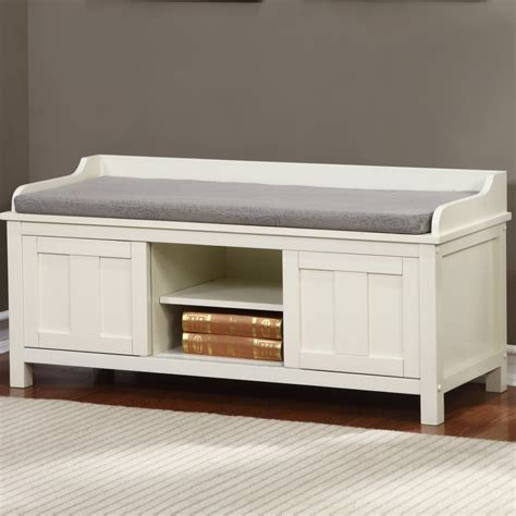 extra long storage bench extra long bedroom storage bench