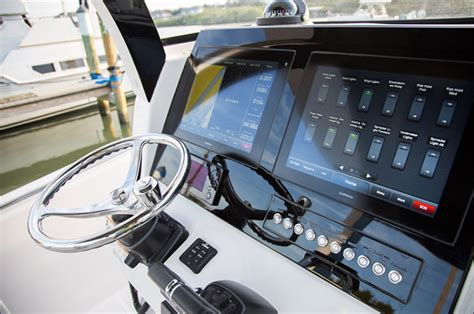 boat dash pictures 368cc luxury center console boat edgewater boats