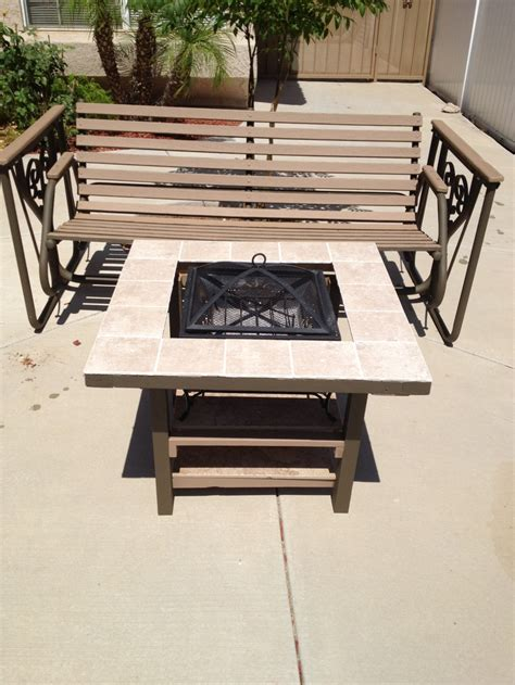what to do with leftover tile 15 grill and home made table from scrap wood and left
