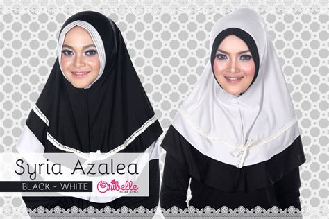 Tokolobo Kaos Simple Ba Grey syiria azalea black white baju muslim gamis modern