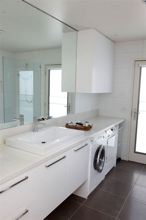 laundry in bathtub point lonsdale little constructions new homes